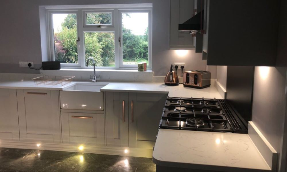 Beautiful Worktops from Felix's Kitchen Fitting of Fleet